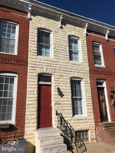 1156 W Hamburg Street, Baltimore, MD 21230 - #: MDBA552386