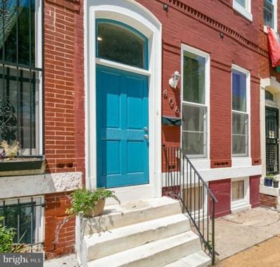 406 E Lanvale Street, Baltimore, MD 21202 - #: MDBA552478