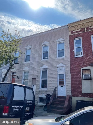 402 S Eaton Street, Baltimore, MD 21224 - #: MDBA552758
