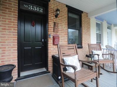 3512 Hickory Avenue, Baltimore, MD 21211 - #: MDBA552808