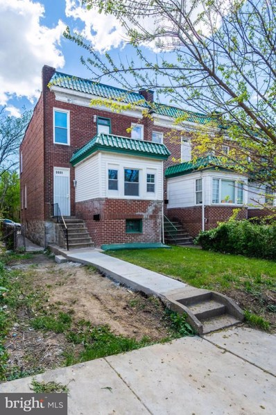 3001 Oakley Avenue, Baltimore, MD 21215 - #: MDBA552848