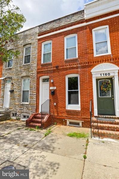 1162 W Hamburg Street, Baltimore, MD 21230 - #: MDBA553014