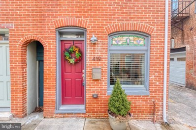419 S Regester Street, Baltimore, MD 21231 - #: MDBA553126