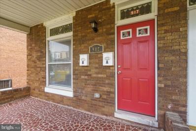 917 N Bentalou Street, Baltimore, MD 21216 - #: MDBA553314