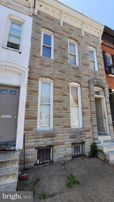 1536 N Carey Street, Baltimore, MD 21217 - #: MDBA553394