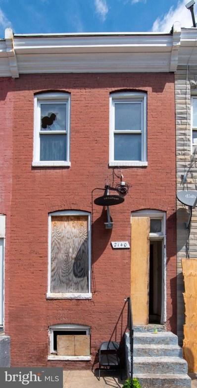 2140 Boyd Street, Baltimore, MD 21223 - #: MDBA553456