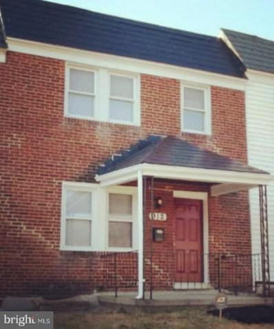 912 Allendale Street, Baltimore, MD 21229 - #: MDBA553512
