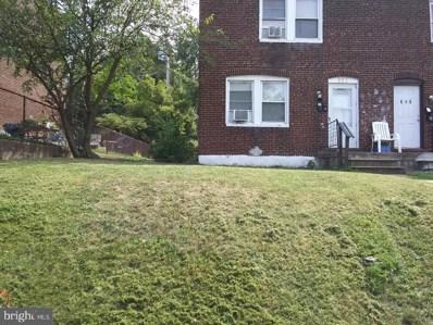 821 E Jeffrey Street, Baltimore, MD 21225 - #: MDBA553632