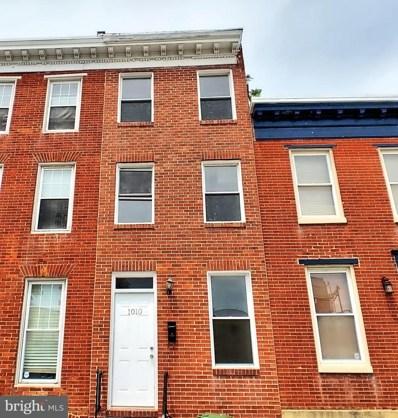 1010 S Paca Street, Baltimore, MD 21230 - #: MDBA553846