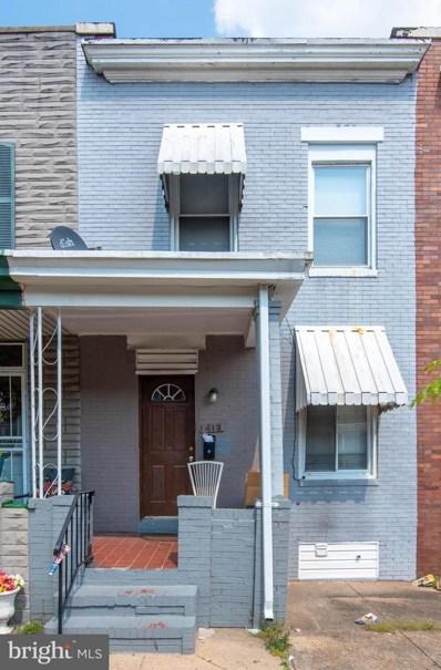 413 N Clinton Street, Baltimore, MD 21224 - #: MDBA554088
