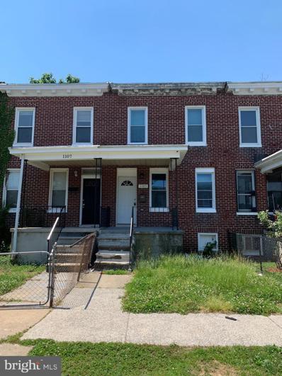 1105 Darley Avenue, Baltimore, MD 21218 - #: MDBA554224