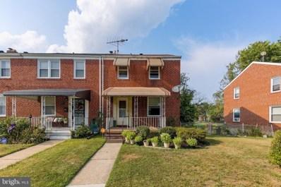 1216 Woodbourne Avenue, Baltimore, MD 21239 - #: MDBA554250
