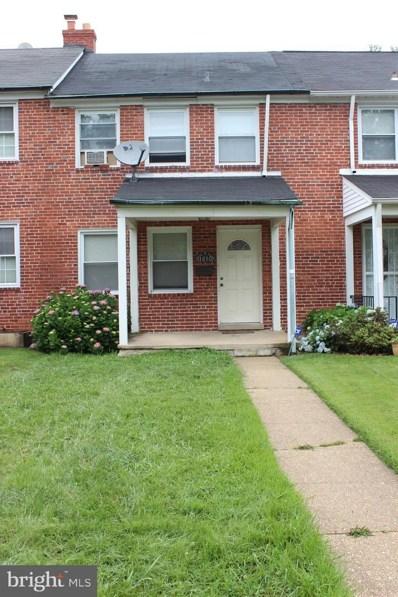 1610 Ramblewood Road, Baltimore, MD 21239 - #: MDBA554660