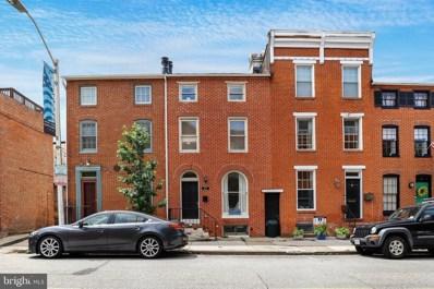 43 E Henrietta Street, Baltimore, MD 21230 - #: MDBA554698