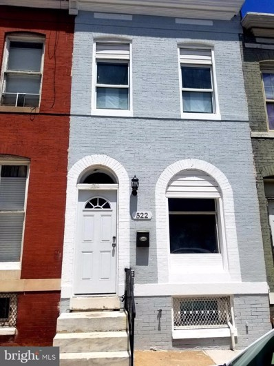 522 E 27TH Street, Baltimore, MD 21218 - #: MDBA554898