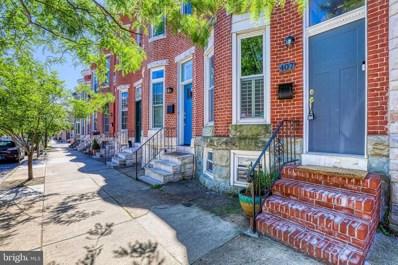 407 E Fort Avenue, Baltimore, MD 21230 - #: MDBA554974