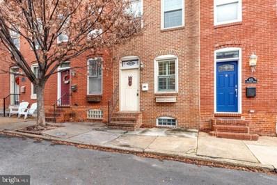 1029 S Bouldin Street, Baltimore, MD 21224 - MLS#: MDBA555002