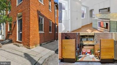 1618 Shakespeare Street, Baltimore, MD 21231 - #: MDBA555022