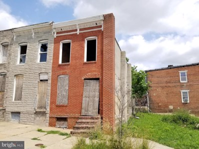 1422 Ramsay Street, Baltimore, MD 21223 - #: MDBA555254