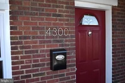 4300 Sheldon Avenue, Baltimore, MD 21206 - #: MDBA555286