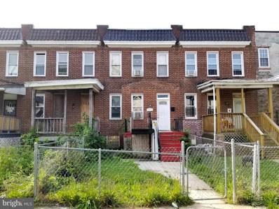 3711 Arcadia Avenue, Baltimore, MD 21215 - #: MDBA555340