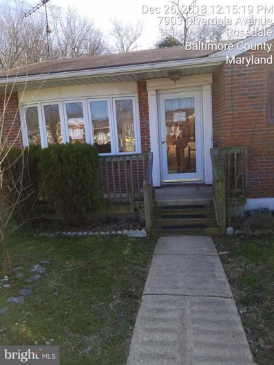 7901 Riverdale Avenue, Baltimore, MD 21237 - MLS#: MDBC100898
