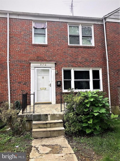 970 Fairmount Avenue, Towson, MD 21204 - MLS#: MDBC101376