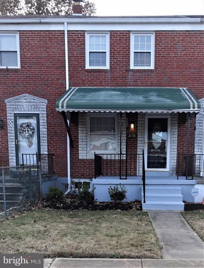 338 Grovethorn Road, Baltimore, MD 21220 - #: MDBC153818