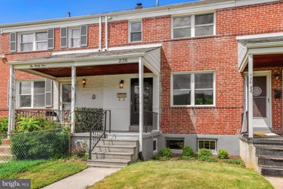 236 Linden Avenue, Baltimore, MD 21286 - MLS#: MDBC2000844