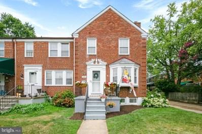 422 Lambeth Road, Baltimore, MD 21228 - MLS#: MDBC2005850