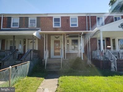 1909 Armco Way, Baltimore, MD 21222 - MLS#: MDBC214550