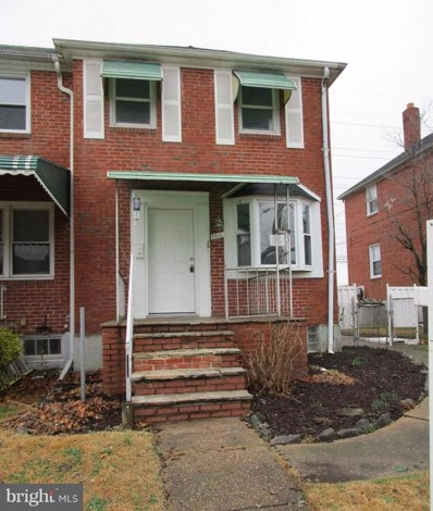 2814 Plainfield Road, Baltimore, MD 21222 - #: MDBC331542