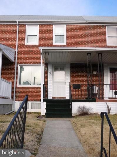 1403 Delvale Avenue, Baltimore, MD 21222 - #: MDBC382140