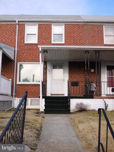 1403 Delvale Avenue, Baltimore, MD 21222 - MLS#: MDBC382140