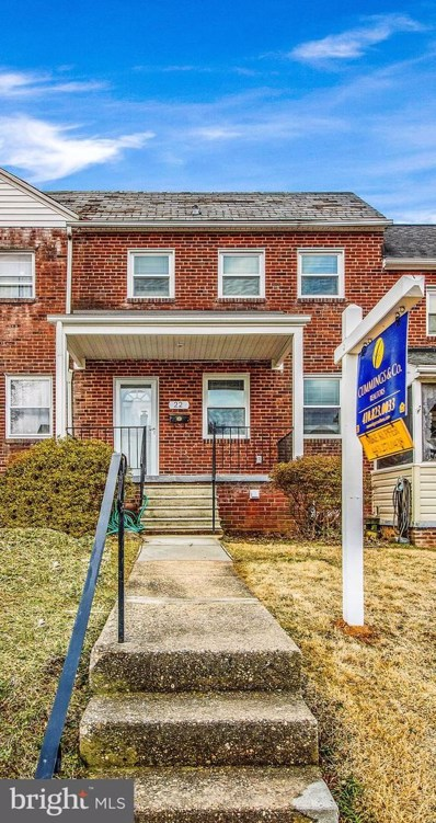 22 Maple Drive, Catonsville, MD 21228 - #: MDBC432736