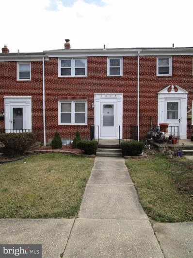 1639 Langford Road, Baltimore, MD 21207 - #: MDBC434536