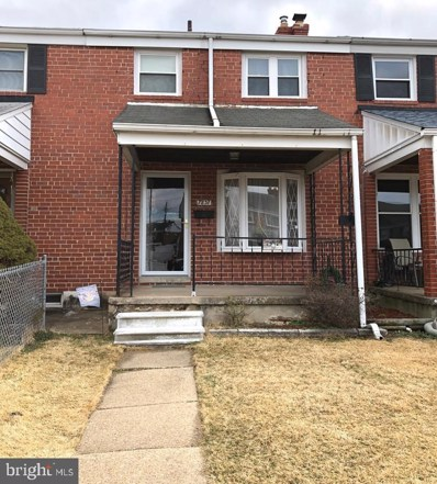7837 Lockwood Road, Baltimore, MD 21222 - MLS#: MDBC434782