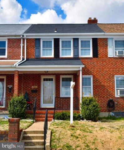 7214 Bridgewood Drive, Baltimore, MD 21224 - #: MDBC435162