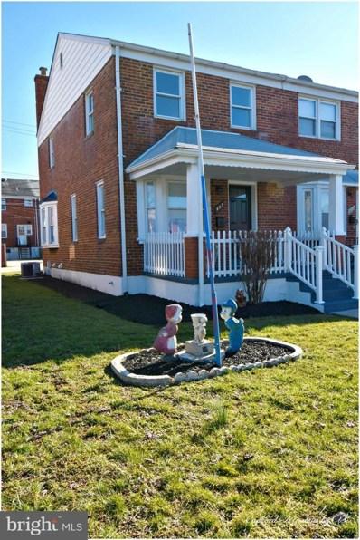 827 Arncliffe Road, Baltimore, MD 21221 - #: MDBC435974
