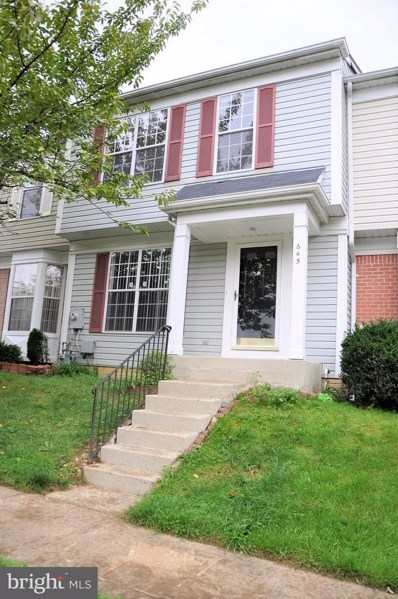 645 Lucky Leaf Circle, Baltimore, MD 21228 - #: MDBC436332