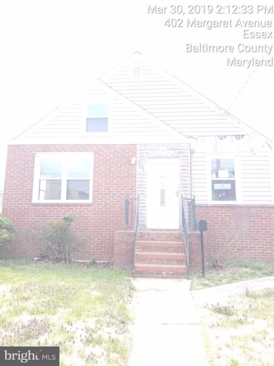 404 Margaret Avenue, Baltimore, MD 21221 - #: MDBC453852