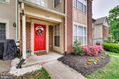 4114 Hunters Hill Circle UNIT C, Randallstown, MD 21133 - #: MDBC455344