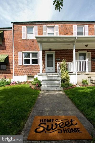 8610 Willow Oak Road, Baltimore, MD 21234 - #: MDBC458086