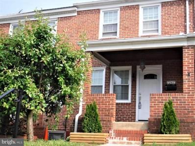 7247 Gough Street, Baltimore, MD 21224 - #: MDBC458756