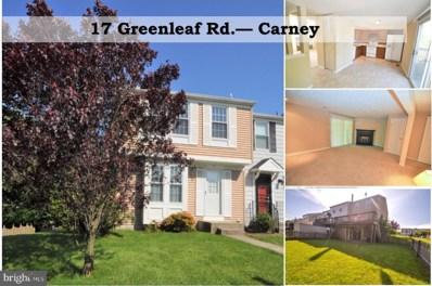 17 Greenleaf Road, Baltimore, MD 21234 - #: MDBC458932