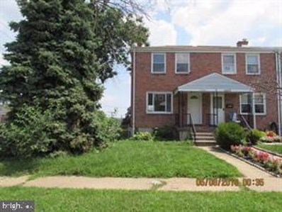 5501 Dolores Avenue, Baltimore, MD 21227 - #: MDBC468254