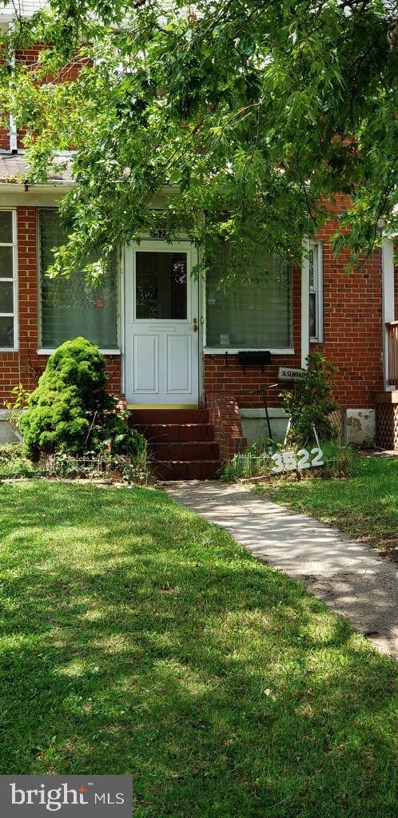 3522 Dunhaven Road, Baltimore, MD 21222 - #: MDBC469542