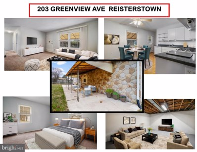 203 Greenview Avenue, Reisterstown, MD 21136 - #: MDBC477238