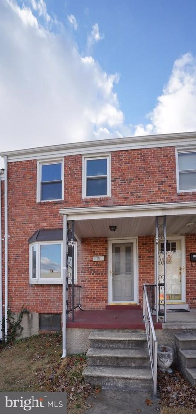 5536 Dolores Avenue, Baltimore, MD 21227 - #: MDBC479034