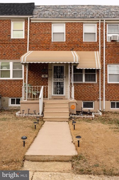 5438 Channing Road, Baltimore, MD 21229 - #: MDBC481210